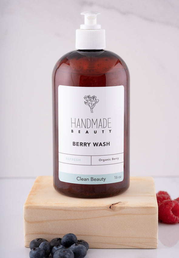 Berry Wash 16 oz - Handmade Beauty