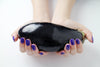Handmade Beauty Toxic Free, Nail Polish  Color Eggplant - HANDMADEBEAUTY