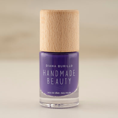 Nail Polish Non Toxic Color Eggplant - Handmade Beauty