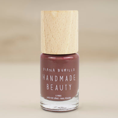 Nail Polish Non Toxic Color Fig - Handmade Beauty