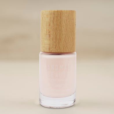 Handmade Beauty Toxic Free, Nail Polish  Color Guava. - HANDMADE BEAUTY COSMETICS LLC