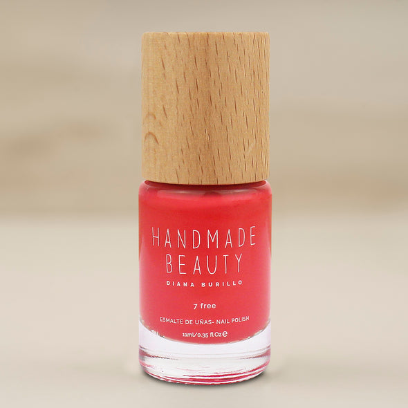 Handmade Beauty Toxic Free, Nail Polish  Color Mamey. - HANDMADEBEAUTY