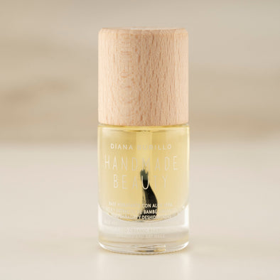 Handmade Beauty Toxic Free, Nail Polish Moisturizing Basecoat With Aloe Vera - HANDMADE BEAUTY COSMETICS LLC