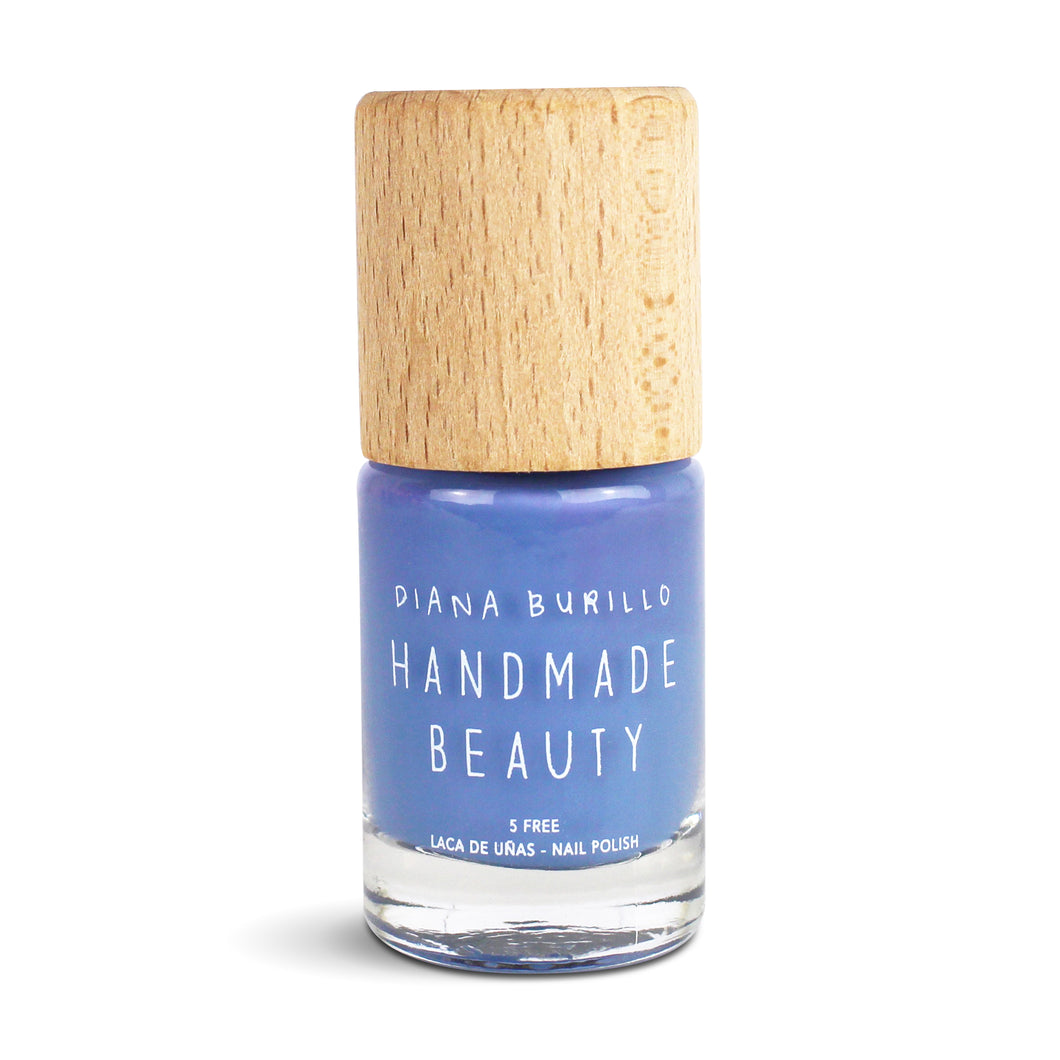 Handmade Beauty Toxic Free, Nail Polish, Color Pansy - HANDMADE BEAUTY COSMETICS LLC