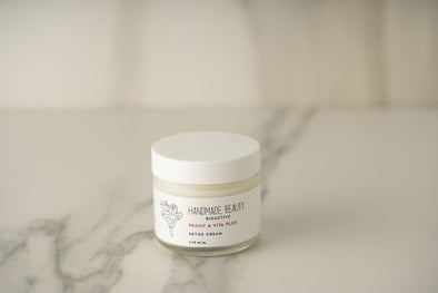 Peony & Vita Plex Detox Cream 2 oz (60 ML) - Handmade Beauty