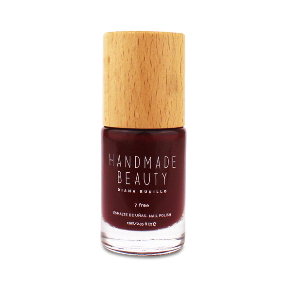 Handmade Beauty Toxic Free, Nail Polish  Color Rasberry. - HANDMADE BEAUTY COSMETICS LLC