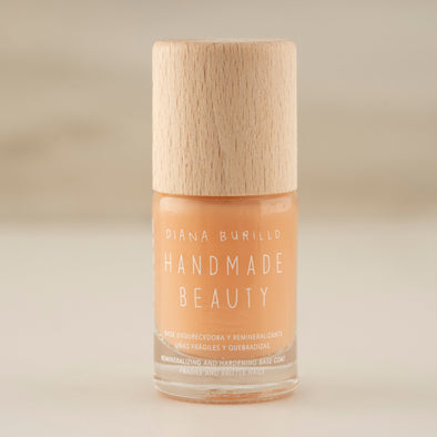 Handmade Beauty Toxic Free, Nail Polish Strengthening & Remineralizing Basecoat - HANDMADEBEAUTY