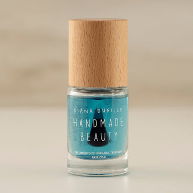 Handmade Beauty Toxic Free Nail Polish Seaweed Basecoat  concentrate  (Water) - HANDMADE BEAUTY COSMETICS LLC
