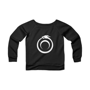 Women's Off the Shoulder Ouroboros Sweatshirt