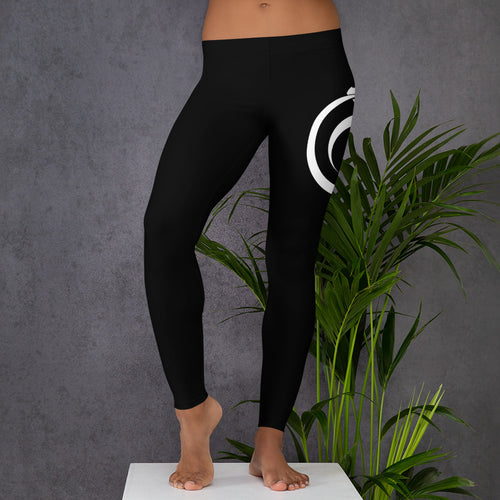 Styx Logo Black Leggings