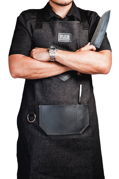 Black Out Apron Itamae Apron