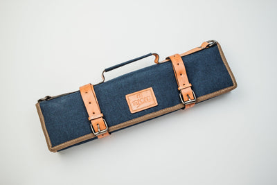 Canvas Ashinoko Canvas Knife Bag Itamae