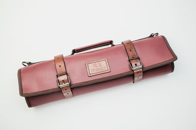 Kobe Leather Knife Bag Itamae