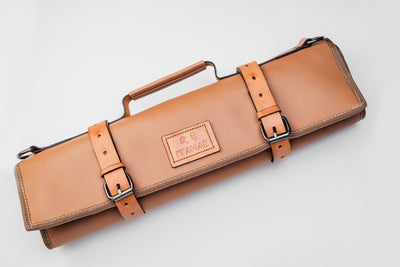 Nara Leather Knife Bag Itamae