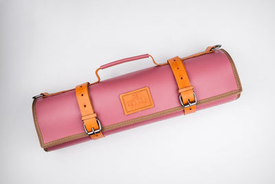 Sakura Leather Knife Bag Itamae