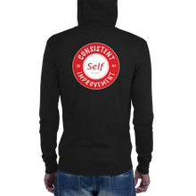 Load image into Gallery viewer, Consistent Self Improvement Unisex zip hoodie