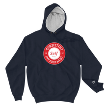 Load image into Gallery viewer, Consistent Self Improvement Champion Hoodie (Red)