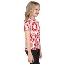 Load image into Gallery viewer, Consistent Self Improvement Kids Pattern T-Shirt (Red/Pink)