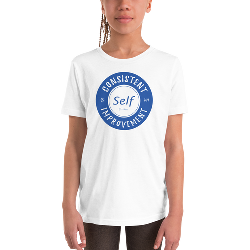 Youth Short Sleeve T-Shirt (Blue)