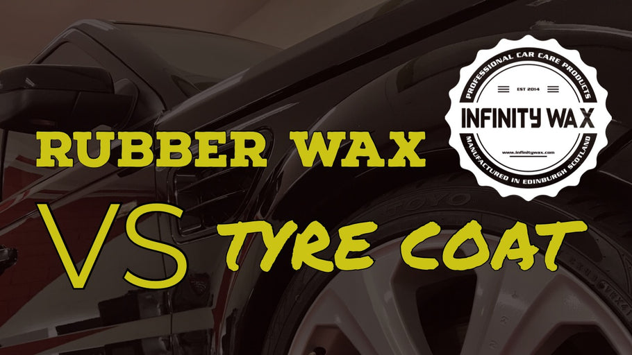Rubber Wax VS Tyre Coat