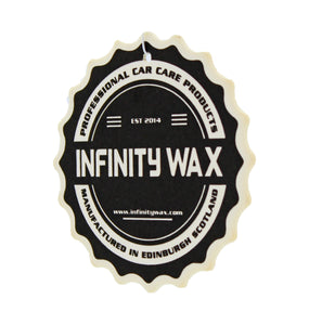 infinity wax hanging air freshener