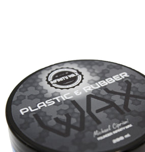 rubber and plastic wax