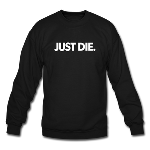 JUST DIE SWEATER - black