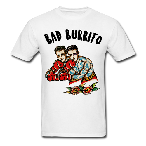 BAD BURRITO BOXER - white
