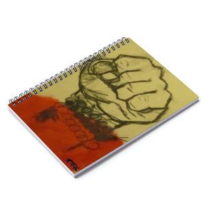 Fight - Lil' Spiral Notebook - Ruled Line - EF Kelly