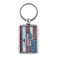 Keychains - Mallard Duck, Fishing Boat, Rock This, American Flag Love, Pug