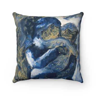 Mother's Love - Spun Polyester Square Pillow - EF Kelly