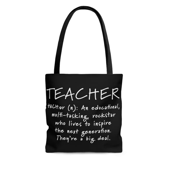 Teacher Tote Bag, Teacher Tote, Teacher Bag, Teacher Gift, Educational Multi-Tasking Rockstar