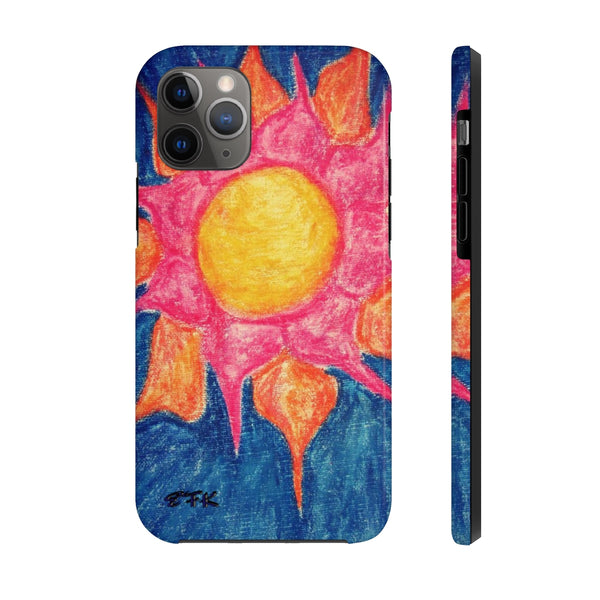 Phone Case, iPhone Case, iPhone 7 Case, iPhone 8 Case, iPhone 11 of Sun