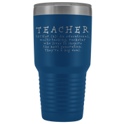 Teacher Tumbler, Teacher Gift, Teacher Appreciation Gift, Teacher Coffee Gift