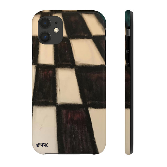 Phone Case, iPhone Case, iPhone 7 Case, iPhone 8 Case, iPhone 11 of CHECKERBOARD