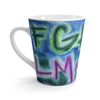 ABZ - Latte mug - EF Kelly Design