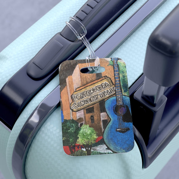 Ponte Vedra Concert Hall Luggage Tag, Bag Tag, Travel Tag