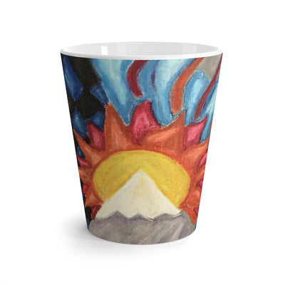 Beautiful World - Latte mug - EF Kelly