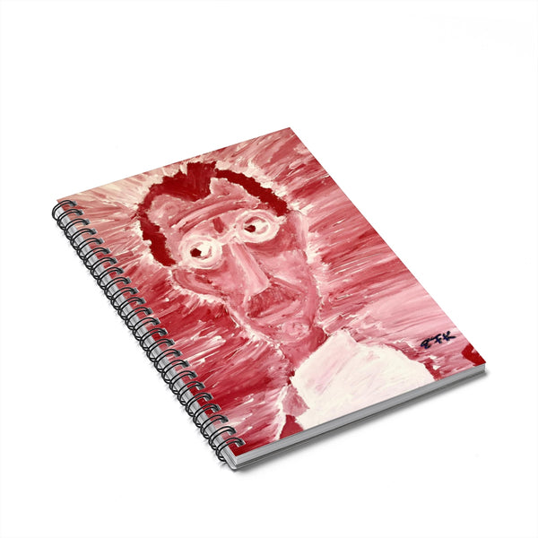 Red Man - Lil' Spiral Notebook - Ruled Line