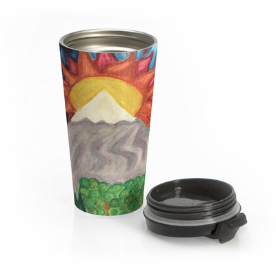 Beautiful World - Stainless Steel Travel Mug - EF Kelly