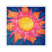 Sun Shiny Day - Square Stickers - EF Kelly