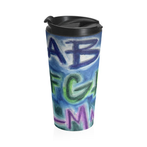 ABZ - Stainless Steel Travel Mug - EF Kelly Design