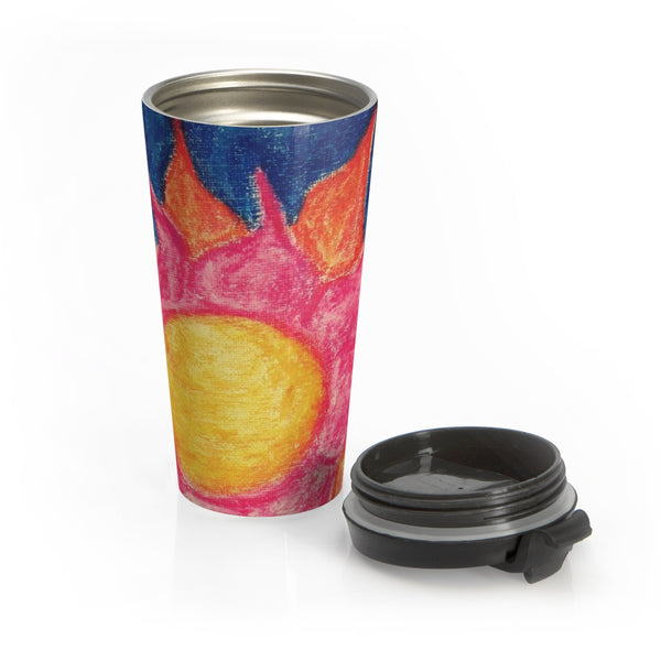 Sun Shiny Day - Stainless Steel Travel Mug - EF Kelly