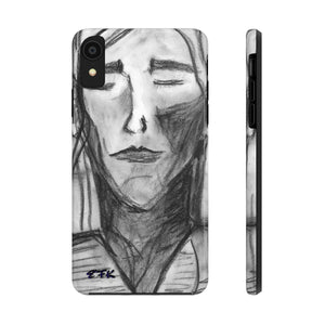 Phone Case, iPhone Case, iPhone 7 Case, iPhone 8 Case, iPhone 11 of Charcoal Girl