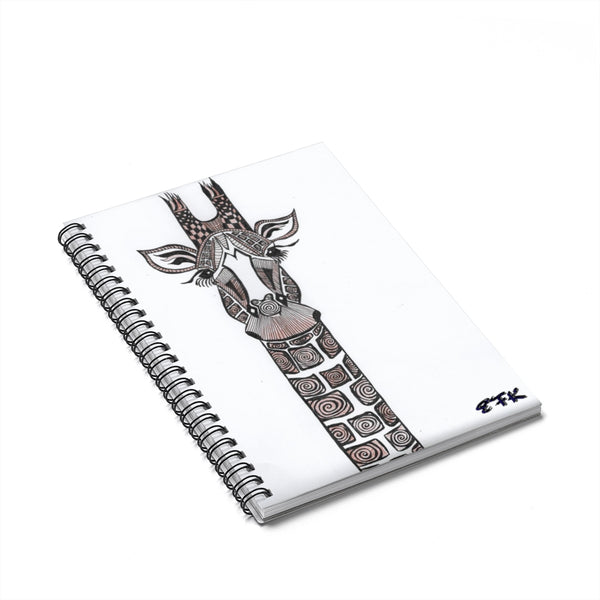 Giraffe - Lil' Spiral Notebook - Ruled Line