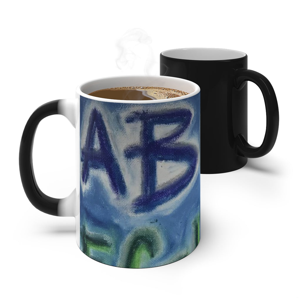 ABZ - Color Changing Mug - EF Kelly Design