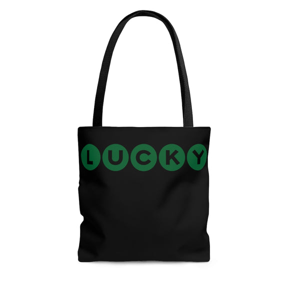 Lucky Tote Bag, St Patricks Day Tote, St Patricks Day Bag, Lucky Bag