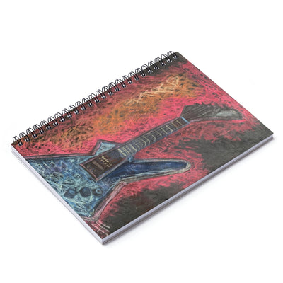 Rock This - Lil Spiral Notebook - Ruled Line - EF Kelly Design