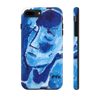 Phone Case, iPhone Case, iPhone 7 Case, iPhone 8 Case, iPhone 11 of Blue Girl