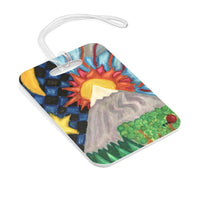 Bag Tag - Luggage Tag - Beautiful World - EF Kelly